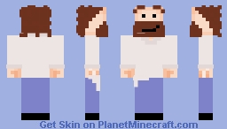 [1.8] Skin9_Barry2 (Almost shaded, Plain/No Shading & Fixed Head) Minecraft Skin