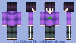 -Đıana / Đan-  Ichimatsu -Osomatsu-san Minecraft Skin