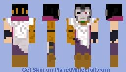Jhin, the Virtuoso [League of Legends] Minecraft Skin
