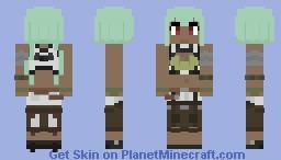 RWBY - Emerald Sustrai Minecraft Skin