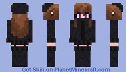 ˢᶰᵒᵒᶠ Endergirl-Ish ᵉᵈᶦᵗᵉᵈ Minecraft Skin