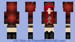 Scary Cat Hoodie Minecraft Skin
