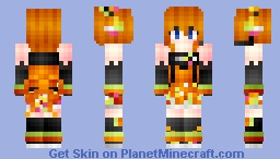 ✼ Cyber Honoka - Love Live! Minecraft Skin