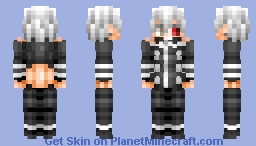 Kaneki Ken - [Tokyo Ghoul] Minecraft Skin