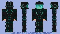 Futuristic Space Armor Minecraft Skin