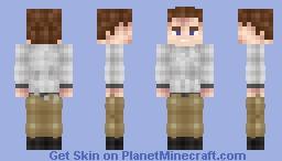 Donald Trump over 9000. Minecraft Skin