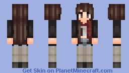 just let the pain remind you hearts can heal... Minecraft Skin