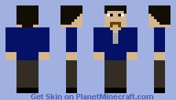 Nick 'Joe' Jackson Minecraft Skin