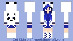 Blue Panda Minecraft