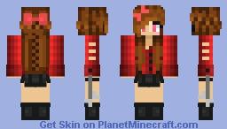 February Skin!(Personal Skin) ~Silver Minecraft Skin