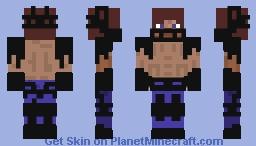 Steve the Fighter Minecraft Skin