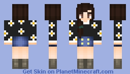 Spring Related girl! ♥╣[-_-]╠♥ Minecraft Skin