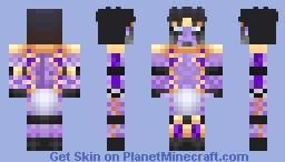 Star Platinum - Purple - JoJo Minecraft Skin
