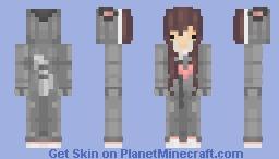 request for kawaiilegitness // sugar glider onesie!!! Minecraft Skin