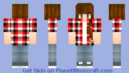 Tomboyish Girl? Minecraft Skin