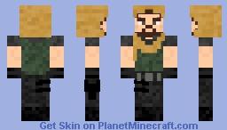 "Agent 1 (of Spyral) ""Tiger"" Minecraft Skin"