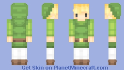 toon link / triforce heroes Minecraft Skin