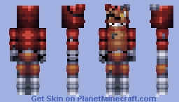 FNaF World Withered Foxy Minecraft