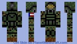elite army dog/furry Minecraft Skin