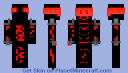 Robot Suit Dude Minecraft