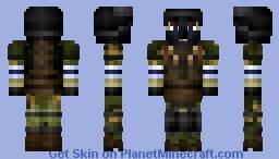 Сухопутные войска Российской Федерации Russian Ground Forces / BF4 RU Support Partizan Minecraft Skin