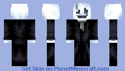 W.D. Gaster - Undertale Minecraft Skin