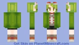 Donut Hole - GUMI Minecraft Skin