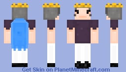 ~ Kingdom Nothing lasts ~ King ~ Minecraft Skin