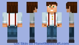 Jesse (Minecraft Story Mode) w/ shades on side and hands and bottom head Fix