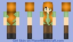 Modified Alex Minecraft Skin