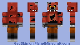 (Requested) Nightmare Foxy | FNAF WORLD Minecraft