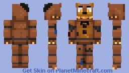 N.Freddy   FNAF WORLD Minecraft Skin