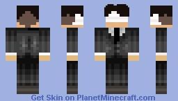 ATTACK ON JUNIOR HIGH: ROCKSTAR LEVI (SEARCH IT ON YOUTUBE) Minecraft Skin
