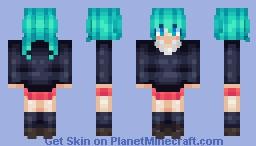 Rolling Girl Minecraft Skin