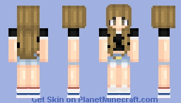 basic girl Minecraft Skin