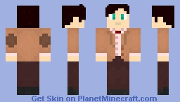 The Eleventh Doctor - My first skin I made