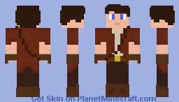 Oldstyle Adventurer Minecraft Skin