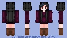 𝔄𝔩𝔬𝔫𝔢 𝔦𝔫 𝔱𝔥𝔢 𝔇𝔞𝔯𝑘𝔫𝔢𝔰𝔰 | ✦ Stucky ✦ Minecraft Skin