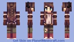 Lovely Minecraft Skin