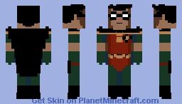 Batman: The Animated Series - Robin Minecraft Skin