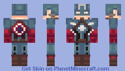 Captain America | Civil War Minecraft Skin