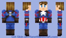 Captain America- 2016 Minecraft Skin