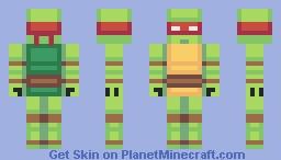 Teenage Mutant Ninja Turtles Minecraft