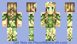 ~Flower~ Lyя Minecraft Skin