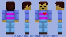 Frisk | Undertale Minecraft Skin