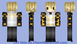 ✼ Genos - One Punch Man Minecraft Skin