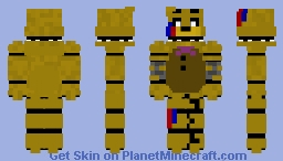 Zajcu37s Fredbear/withered golden Freddy