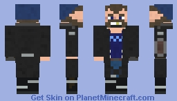 Captain Boomerang (Suicide Squad) Minecraft Skin