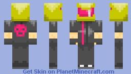 Neon Driver Minecraft Skin