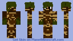 palm tree Minecraft Skin